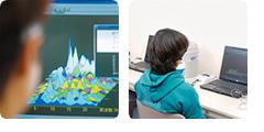 「バイオフィードバック装置」で脳波測定